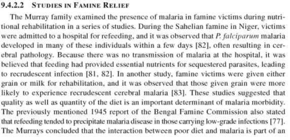 studies in famine relief