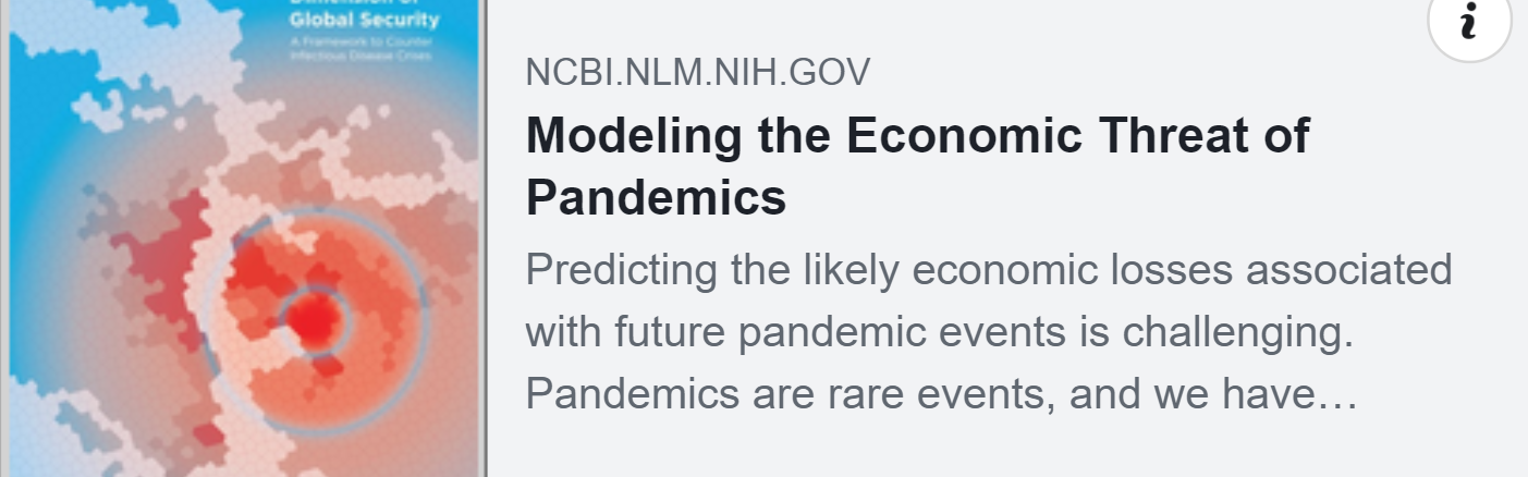 modeling pandemic